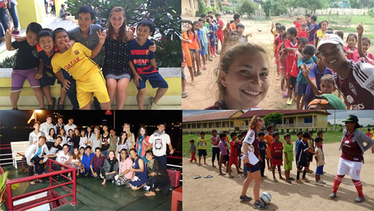 Sophomore travels to Cambodia and Vietnam to teach soccer