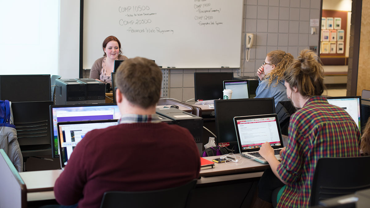 IC Women in Computing teach programming in first event