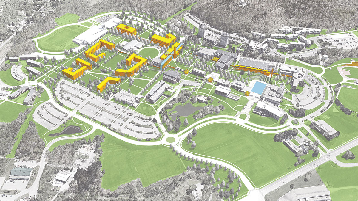 Ithaca College master plan imagines vision for future
