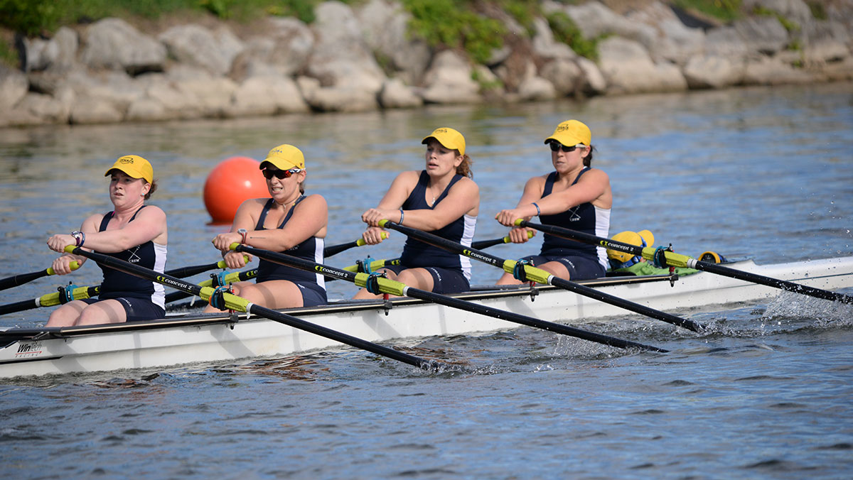 Senior rower propels sculling team from day one