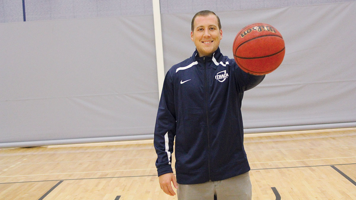 Former captain jumps at opportunity to help men's basketball