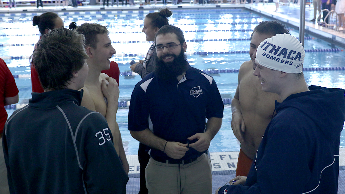 Former Bombers swimmer splashes into assistant coaching role