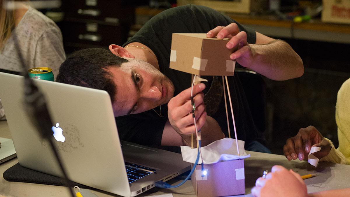 Bright Idea: Ithaca Generator fosters students' creativity