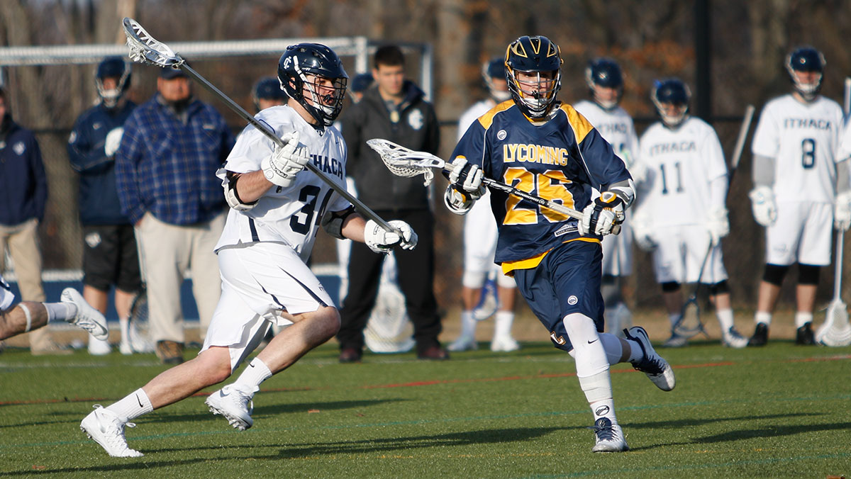 Junior transfer takes on Division III men's lacrosse
