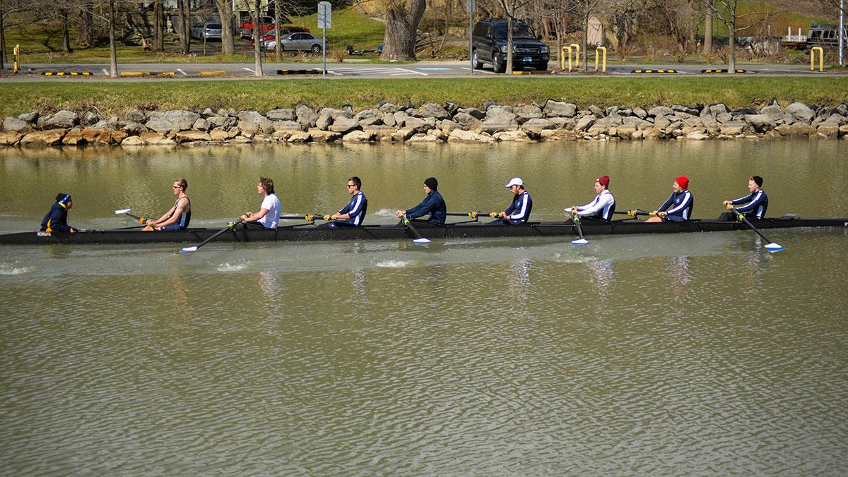Ithaca College crew has successful weekend