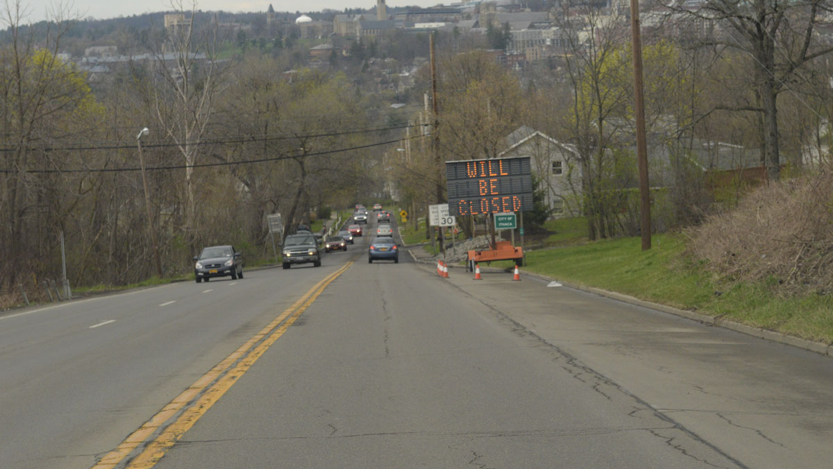 South Aurora Street to close for construction through mid-May
