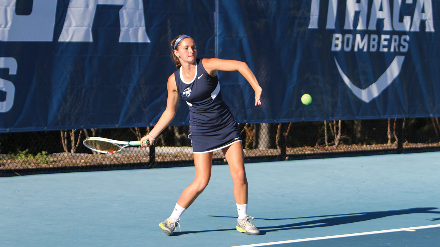 Undefeated Empire 8 record motivates women's tennis team