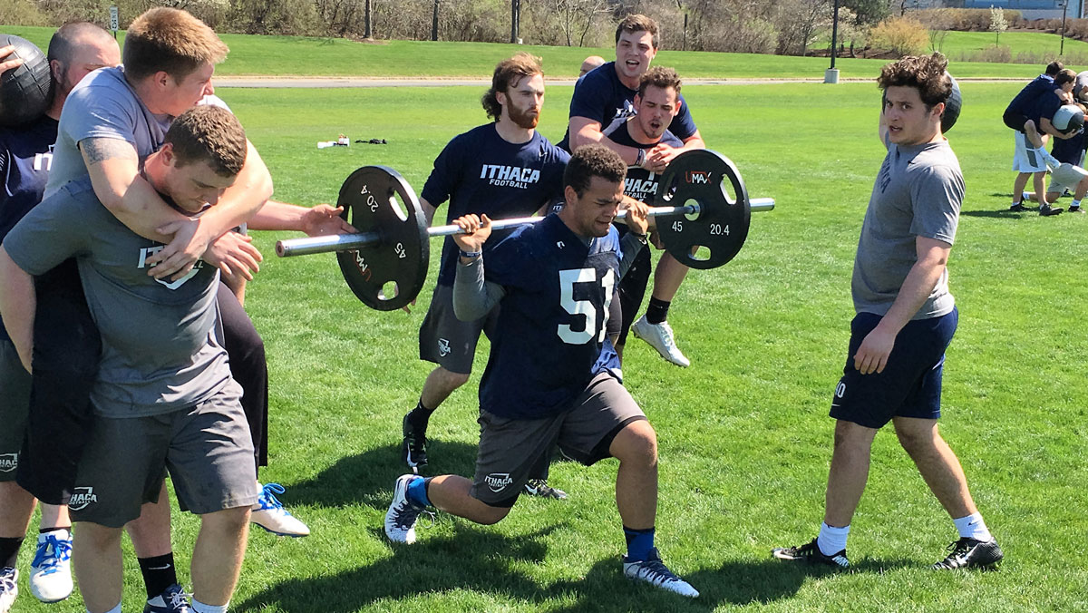 Ithaca College sports work with Applied Performance Sciences