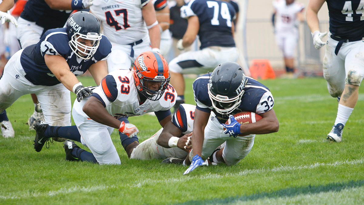 IC football team defeats previously unbeaten Utica College