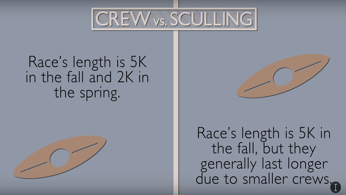 Crew and sculling: A breakdown