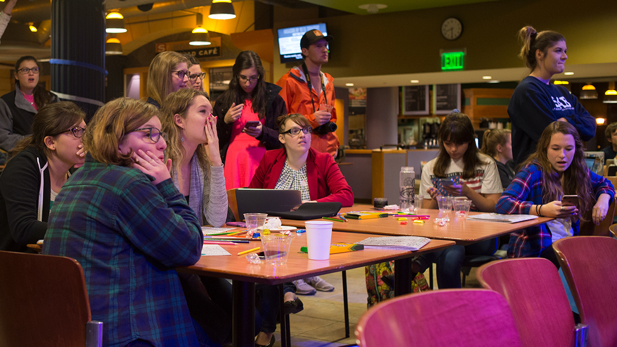 Students shocked as Donald Trump elected president