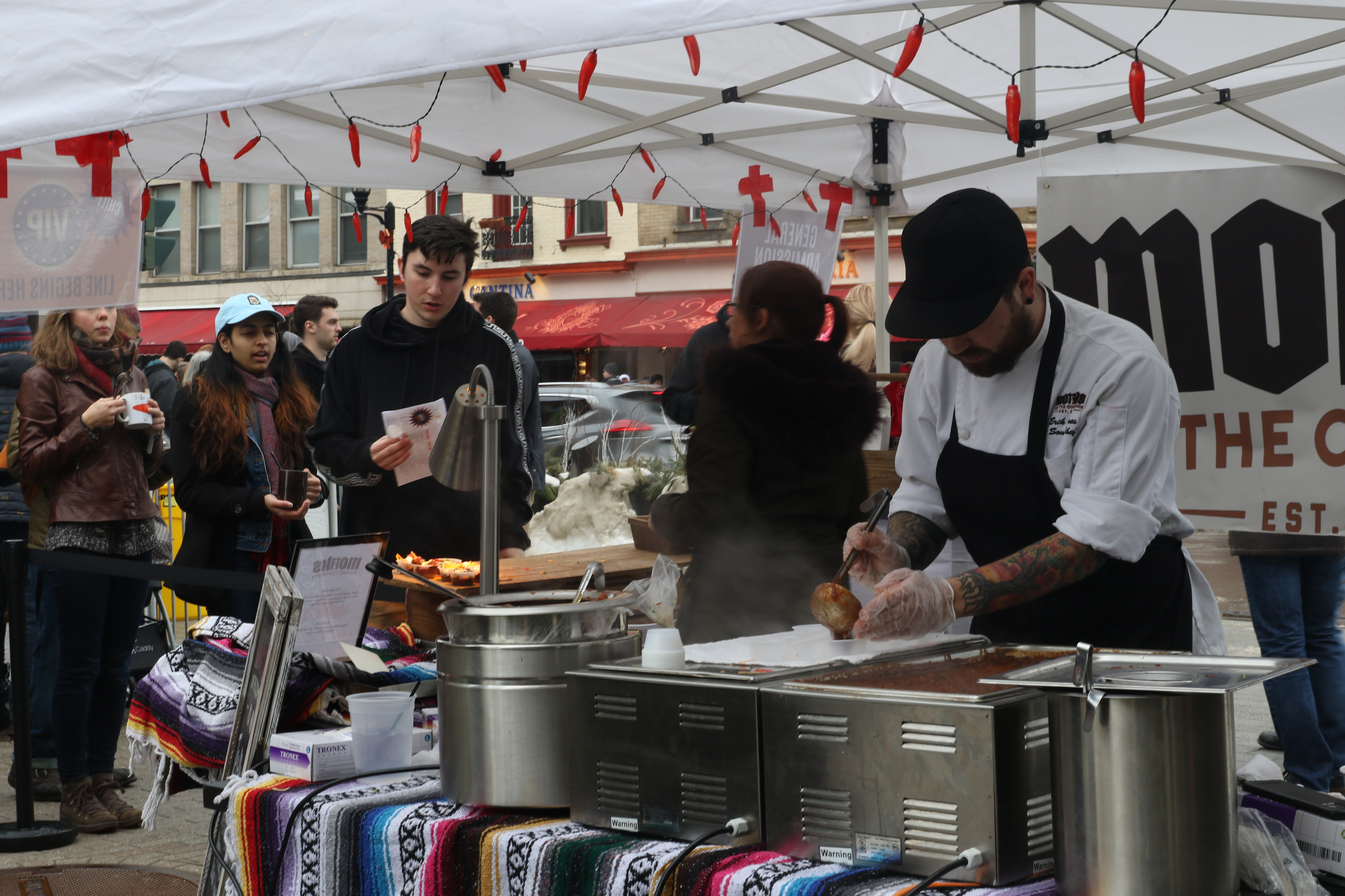 WATCH: Ithaca community celebrates 20th annual Chili Cook-Off