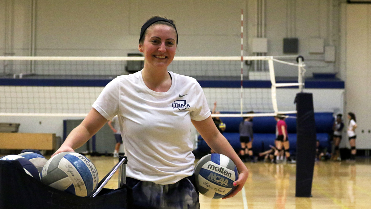 New coach spikes energy into women's club volleyball