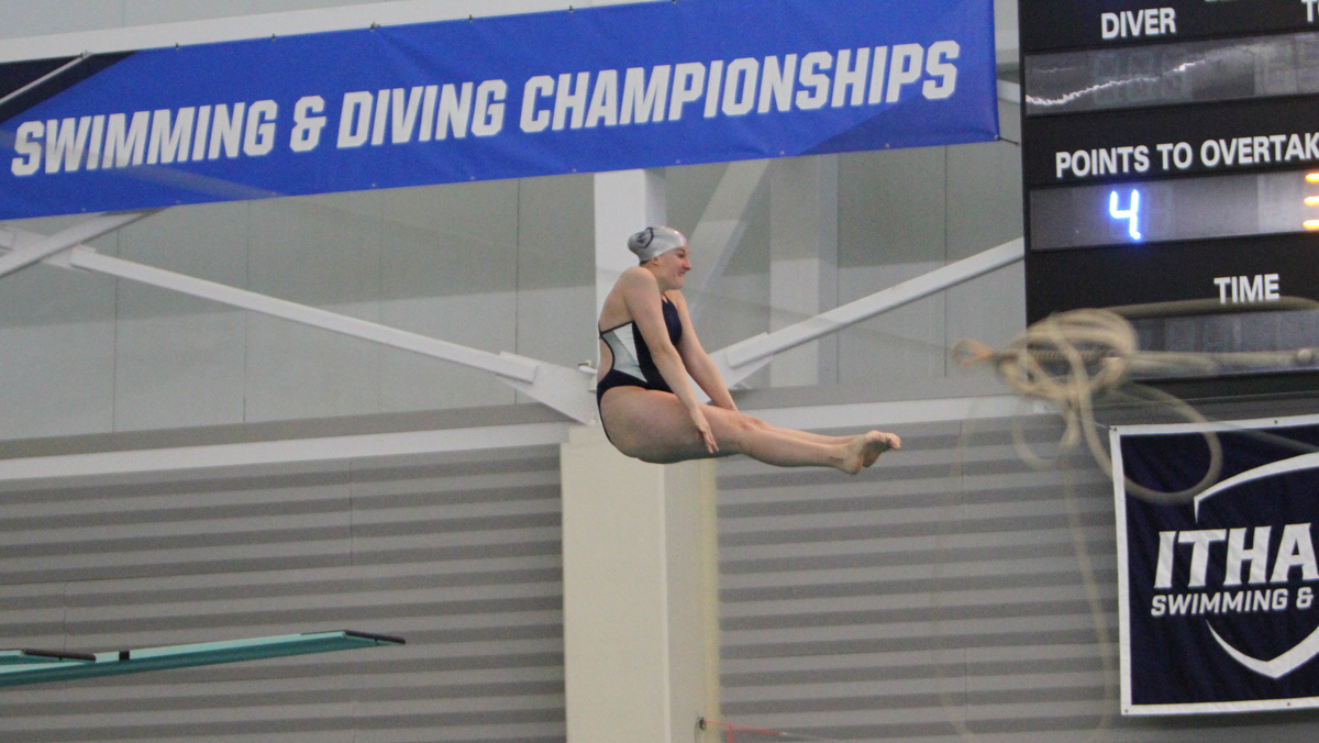 Swimming and diving completes Liberty League Championships