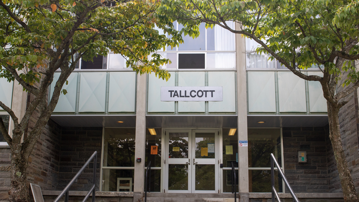 Swastika reportedly drawn outside dorm room in Tallcott Hall