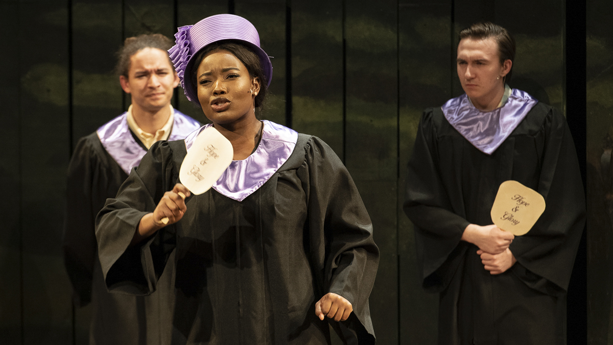 "Students perform ""Violet,"" a musical about acceptance"