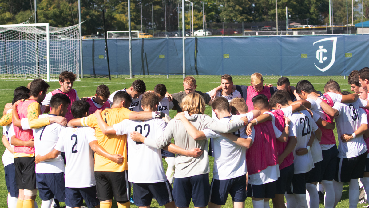 Head coach rebuilds men's soccer program