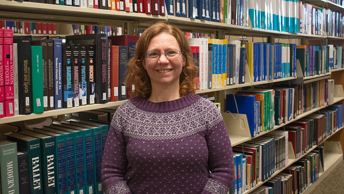 Q&A: College librarian receives award from regional library council