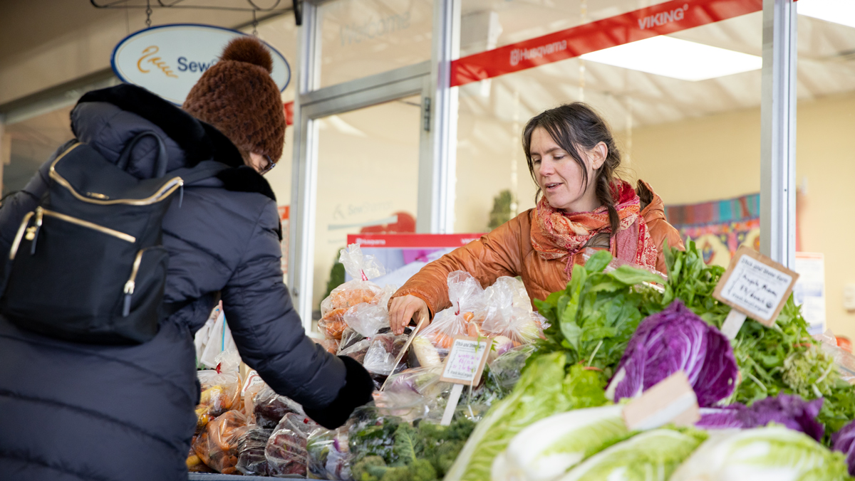 Ithaca Farmers Market moves to Triphammer Marketplace